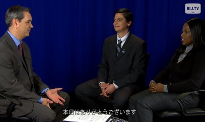 Valencia Bembry and Rubens Pessanha - Business in Japan TV